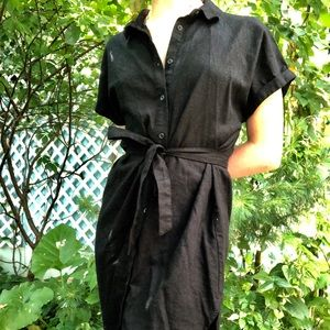 Black casual dress from Forever 21